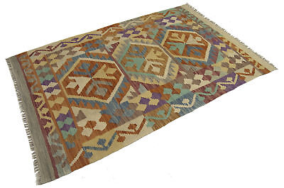 150x100 CM Autentik Kilim Kelem Original Hand Made Classic STYL - EASY TO CLEAN