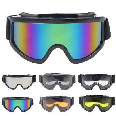 Motorcycle Windproof Goggles Motorbike Scooter Biker Glasses Race Eye Protection