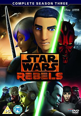 Star Wars Rebels Complete Season 3 (UK IMPORT) DVD NEW
