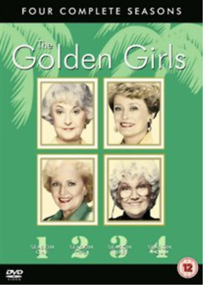 Beatrice Arthur, Estelle Getty-Golden Girls: Seasons 1-4 (UK IMPORT) DVD NEW