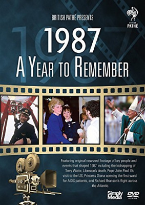 A Year To Remember 1987 (UK IMPORT) DVD NEW