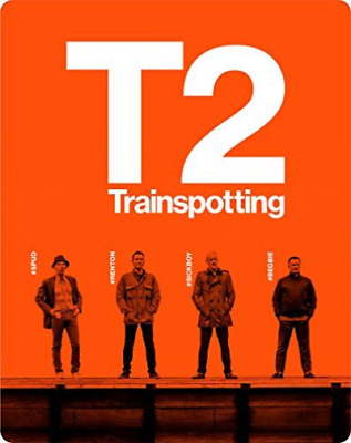 T2 Trainspotting 2 Disc Steelbook (UK IMPORT) DVD NEW