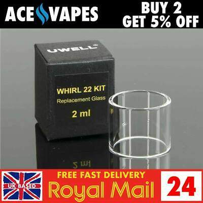 UWELL WHIRL 22 Kit Replacement 2ml Straight Pyrex Glass Piece