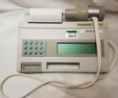 Vitalograph Alpha Resistance Measuring Spirometry Portable Test Instrument