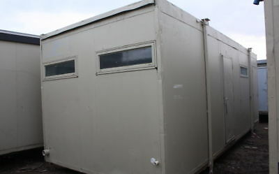 24' x 10' Toilet Block Unit, Cabin - Ideal for on-site facilities.