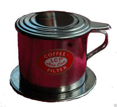 New Genuine Vietnamese Asian One Cup Coffee Pot Filter Maker V4 Expresso