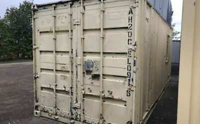20' x 8'Anti-Vandal Steel 50/50 Office/Store Unit, Cabin - PRICE REDUCED