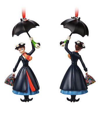 NEW! Disney Store 2018 Mary Poppins Sketchbook Christmas Holiday Ornament
