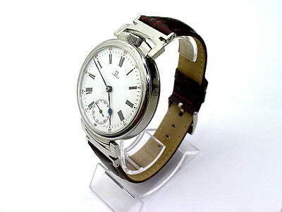 OMEGA ART-DECO STYLE #1 1913's, BEAUTIFUL AND RARE EXCLUSIVE WRISTWATCHES