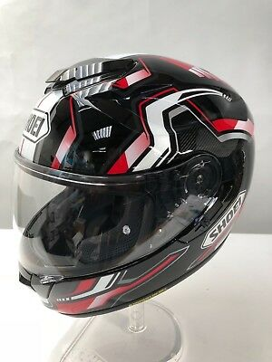 83bcf401 SHOEI GT-AIR BOUNCE TC-1 Motorcycle Helmet black red white Large ...