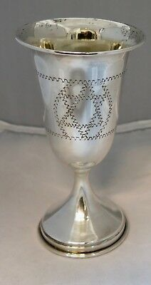 Vintage Sterling Silver Kiddish Cup