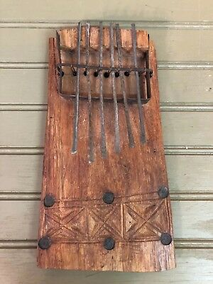 African Thumb Finger Piano Hand Made Primitive