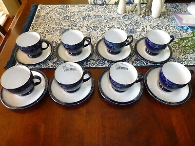 Denby Baroque Footed Cup & Saucer Set