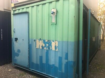 24' x 9' Anti-Vandal Steel 2+1+Drying Room Toilet Block Cabin