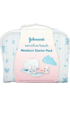 Johnson's Baby sensitive touch Newborn Starter Pack