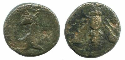 BEE, HORSE Authentic Ancient GREEK Coin 1,5g/12mm @NNN1201.9US