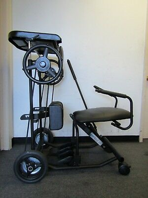 """Adult Easystand 5000 Mobile Standing Frame Wheelchair Users,up To 280 Lbs,6' 5""""."""