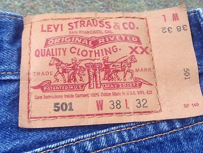 Made In USA Levi's 36x 31