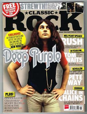 Classic Rock Magazine No.184 June 2013 MBox844 The end days of Deep Purple
