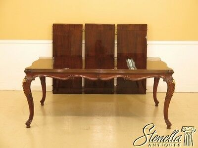 L45003EC: KARGES French Style Walnut Dining Room Table