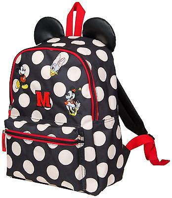 Minnie Mouse Backpack with Ears for Girls Disney School Bags Travel  Accessories