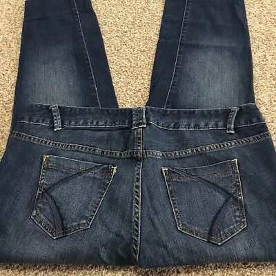 Women's Lane Bryant Jeans Simply Straight Stretch Womens Size 20 Actual 38x29