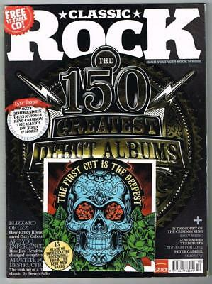 Classic Rock Magazine No.150 October 2010 MBox857 The 150 Greatest Debut Albums