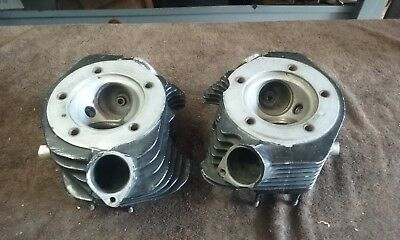 Stock Harley Shovelhead Vintage Chopper Cylinder Heads For 1966-1984 Big Twins