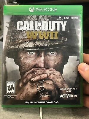 Call of Duty: WWII (Microsoft Xbox One) FREE SHIP