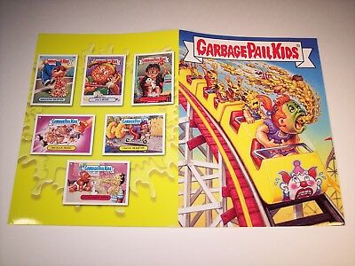 Rare Garbage Pail Kids Ans1 2003 Promotional Press Kit Folder Sdcc Comic Con