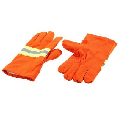 Fire Protective Gloves Fire Proof Heat Proof Anti-fire Gloves Non-slip D0Q1