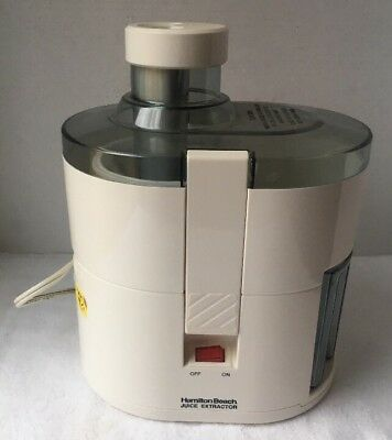 nwob hamilton beach juice extractor juicer model 67150 19 99 rh picclick com The Mouth Juicer The Mouth Juicer
