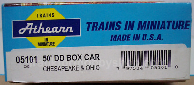 HO SCALE 1966 Athearn 40' Hi Cube Box Car Union Pacific NEW IN BOX