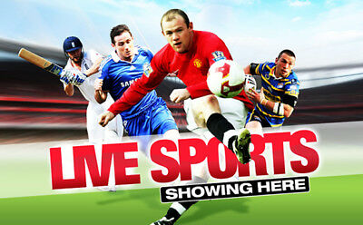 Watch Many Live Sports Anytime,Its A Must Have Monthly Sub Only!!!!!!!