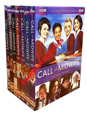 Call the Midwife: Complete Series Seasons 1-7 (20-Disc DVD Set) 1,2,3,4,5,6,7