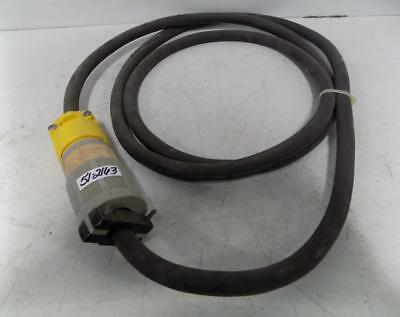 Garden Bay Research 12 Awg Power Cord With 20A 125/250V Grounding Plug 96314