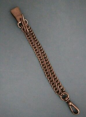 Vintage Metal Mesh Lineman Clamp Chain tool belt strap pole telephone Rust Proof