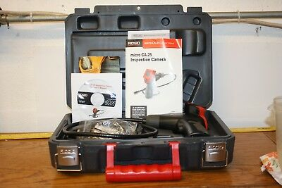 Ridgid micro CA-25 Inspection Camera with Case and Accessories - FREE SHIPPING!