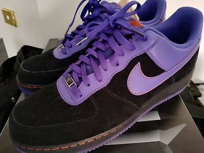 Nike Air Force 1 size 14. Phoenix Suns colorway . Only worn once
