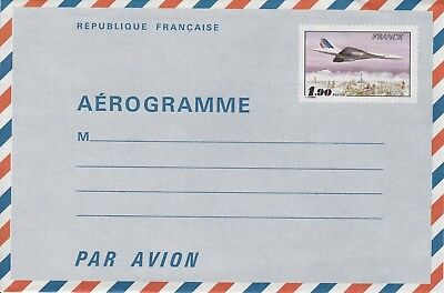 CC8) Aerogramme From Potez 25 To CONCORDE
