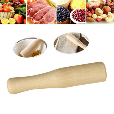 Environmental Wood Mojito Muddler Pestle for Pastes Custard Jelly Purees Curds