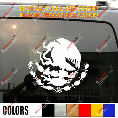 Coat of arms of Mexico Decal Sticker Car Vinyl pick size color die cut no bkgrd