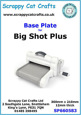 Sizzix Big Shot Plus Platform by Scrappy Cat  : Item SP660583