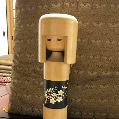 Kokeshi Japanese traditional crafts retro cute vintage rare flower girl F / S!