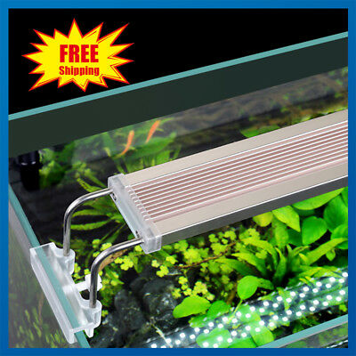 28-75cm LED Light Aquarium Fish Tank Full Spectrum Plant Marine Grow Waterproof