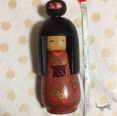 Kokeshi Japanese traditional crafts cute vintage rare popular kimono girl F / S!