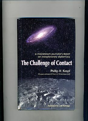 New Age-The Challenge Of Contact-Phillip Krapf-1St 2001-Hb/dj-N Fn-Alien Contact