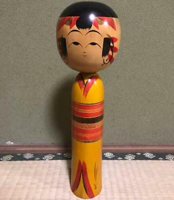 Kokeshi Japanese traditional crafts retro cute vintage popular kimono F / S!