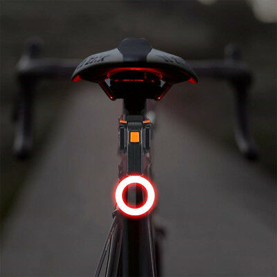 Bike Tail Light Ultra Bright Bike Light USB Rechargeable LED Bicycle Rear L G8Z4
