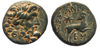 Roman Provincial Antioch Syria Autonomous issue with Star of Bethlehem